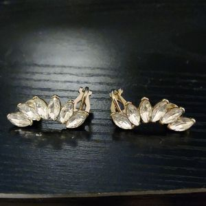 Ear crawler earrings